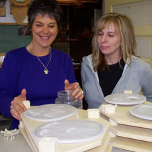 Business opportunity - instruction to produce ceramic impressions at home